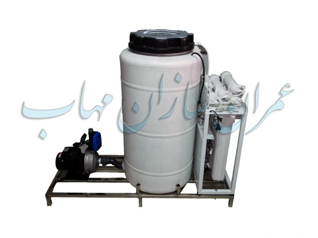 Semi-industrial water filtration package پکیج تصفیه آب نیمه صنعتی