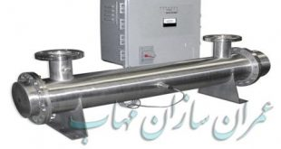 Disinfection UV light wastewater water